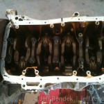 B18a1 Engine Block, Oil Pan/Screen Removed