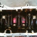 B18a1 Engine Block Removing Pistons