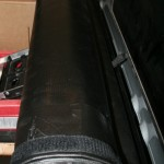 Access Vanish Tonneau Cover Rolled Up