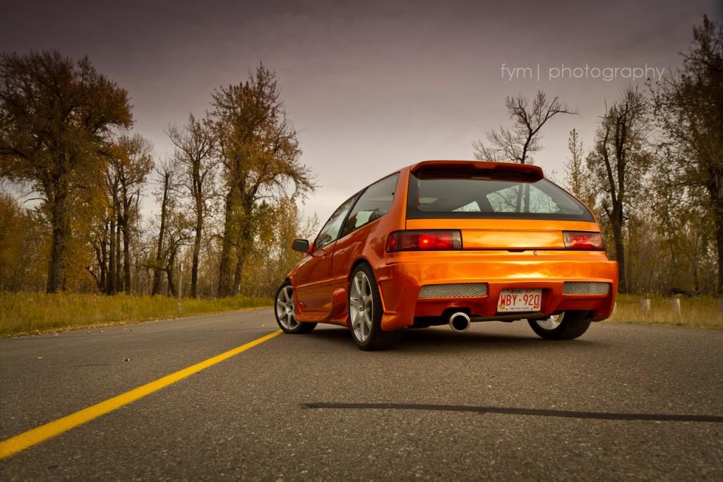 90civicrider - 1990 Honda Civic H/B Rear Side