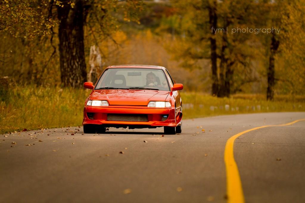 90civicrider - 1990 Honda Civic H/B Head On