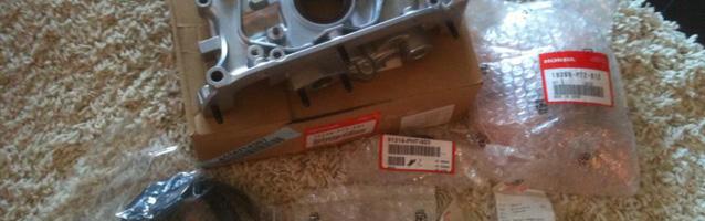 OEM Honda Parts Have Arrived!