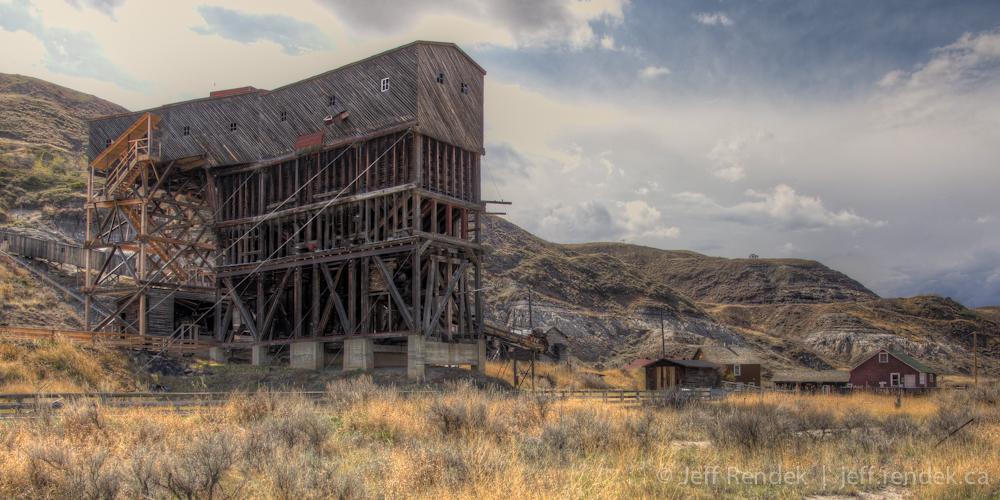 atlas coal  drumheller alberta jeff rendeks blog