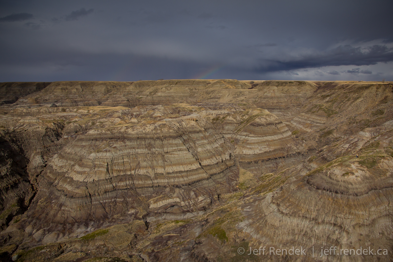 horsethief horseshoe canyon drumheller ab