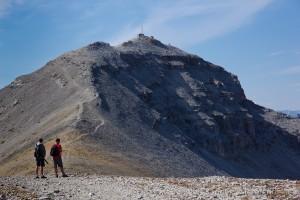 Moose Mountain Trail, Ridge Approaching the Summit Pass!