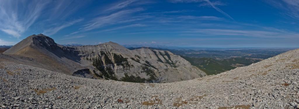 Highest Point of the Moose Mountain Ridge
