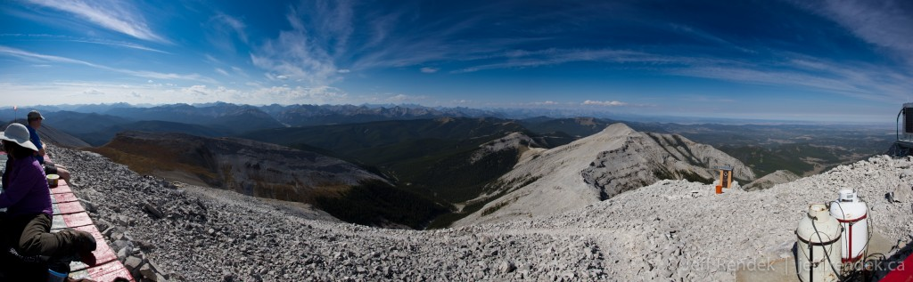 Looking West From the Summit of Moose Mountain