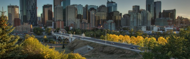 Timelapse – Downtown Calgary at Sunset