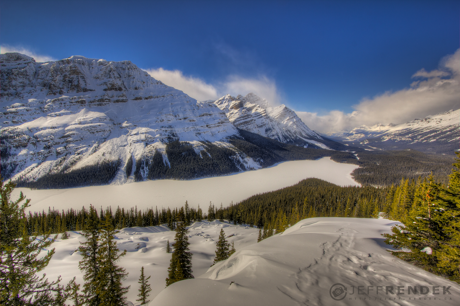 Town And Country Toyota >> Snowshoeing to Peyto Lake Viewpoint - Bow Valley Summit
