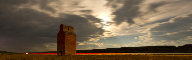 Timelapse – Abandoned Ghost Town at Dorothy, Alberta